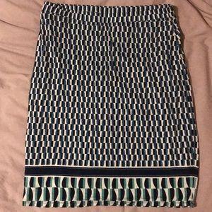 Max Studio Jersey Skirt